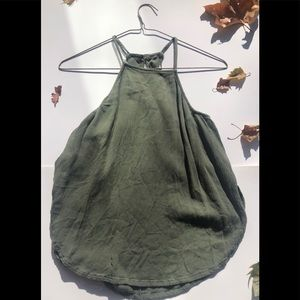 Green Camisole  Top